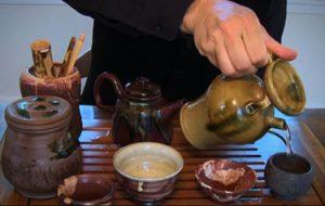 tea ceramic incense