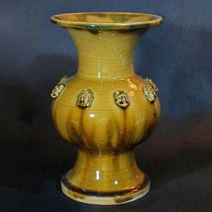 ceramic art vase