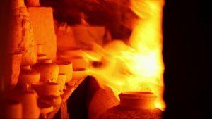 ceramic art fire