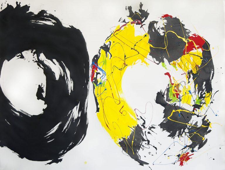 contemporary calligraphy art