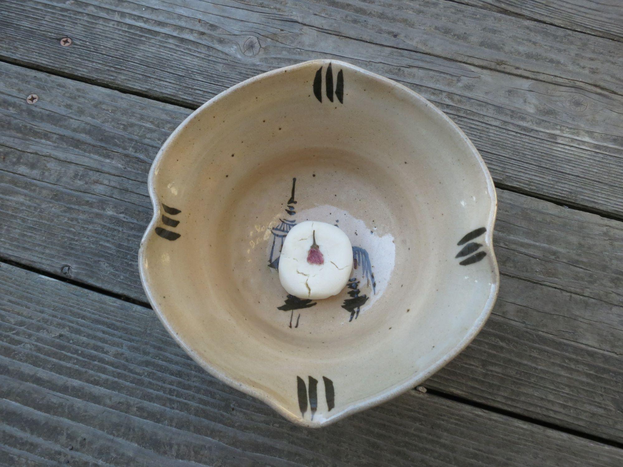 ceramic art bowl