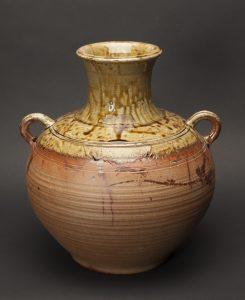 Ceramic jar art